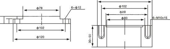 三相电动机用浮球控制的接线图